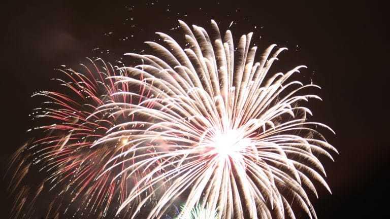 Feuerwerk und Vorsätze